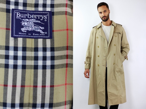 Burberry Trench Coat Burberrys Coat Burberry Coat Burberrys Jacket Burberry Jacket Burberrys Coat Beige Burberrys Trench Coat Trenchcoat Men