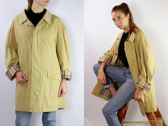 BURBERRYS Trenchcoat Vintage Burberry Coat Beige Women Trenchcoat BURBERRY Trench Coat Vintage Coat Burberry Jacket Beige Coat Burberry C023