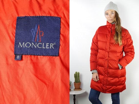 Moncler Puffer Coat Moncler Down Coat Moncler Jacket Moncler Down Jacket Moncler Coat 90s Moncler Coat  90s Moncler Jacket JA107