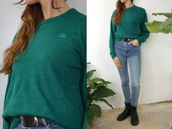 Vintage Wool Jumper Vintage Wool Sweater Green Jumper Oversize Sweater Warm Wool Jumper Second Hand Womens Clothing Vintage Fashion WP261