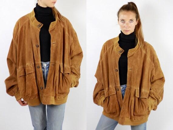 Brown Suede Jacket Suede Bomber Jacket Suede Jacket Brown Vintage Suede Jacket 80s Suede Jacket Bomber Jacket Suede Jacket Leather WLJ92