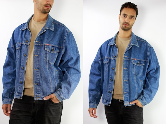 CARRERA Denim Jacket Mens Jean Jacket Carrera Denim Jacket Blue Jean Jacket Men Grunge Jacket Vintage Denim Jacket Denim Jacket Denim DJ11