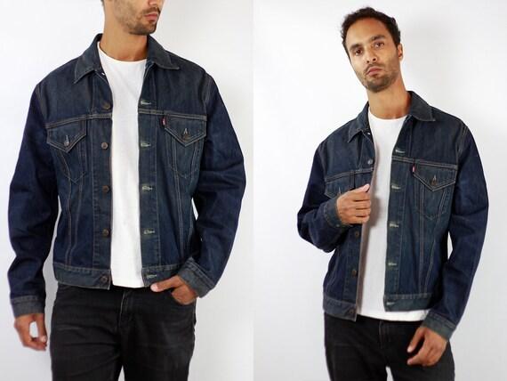 LEVIS Denim Jacket Levis Jean Jacket Denim Jacket Levis Large Jean Jacket 90s Levis Jacket Blue Vintage Denim Jacket Vintage Levis JJ255