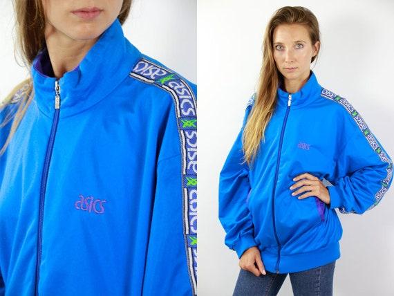 Vintage Windbreaker 90s Windbreaker Vintage Track jacket 90s Track Jacket Asics Windbreaker Asics Track Jacket 90s Shell Jacket 90s Jacket