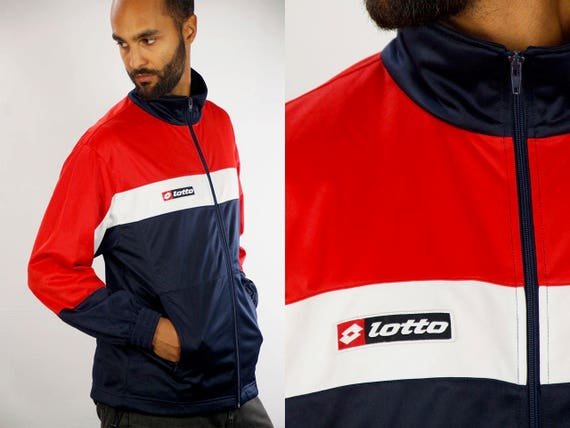 Lotto Windbreaker / Lotto Track Jacket / Lotto Tracksuit / Lotto Nylon Jacket / lotto Shell Jacket / Lotto 90s / 90s Windbreaker / Lotto