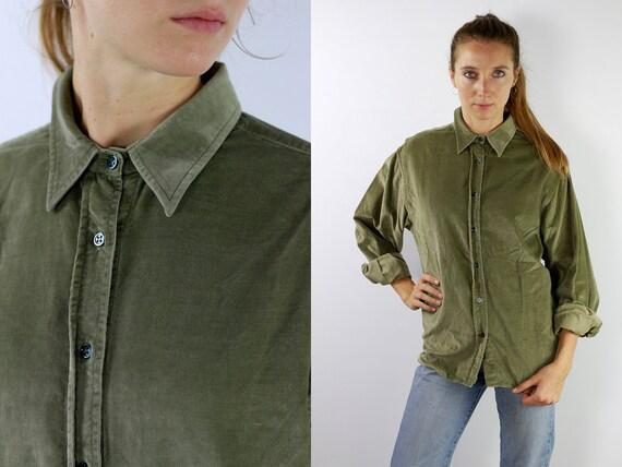 Corduroy Shirt Corduroy Shirt Ferre Shirt 90s Ferre Shirt 90s Corduroy Shirt 90s Corduroy Shirt Vintage Shirt Denim Shirt HE3