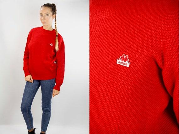 Kappa Jumper / Kappa Sweater / Kappa Wool Jumper / Kappa Wool Sweater / 90s Kappa Sweater / 90s Kappa Jumper / Kappa 90s  / Kappa vintage