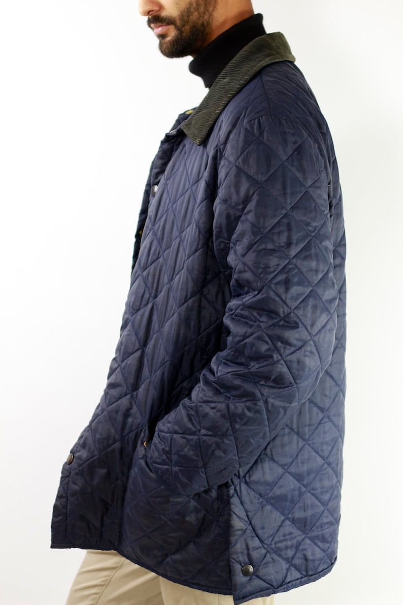 reputable site 0d72e 21d71 Barbour cappotto Barbour giacca Barbour blu cappotto Barbour cappotto  Vintage Vintage Barbour Barbour blu giacca trapuntata Barbour Eskdale CO4