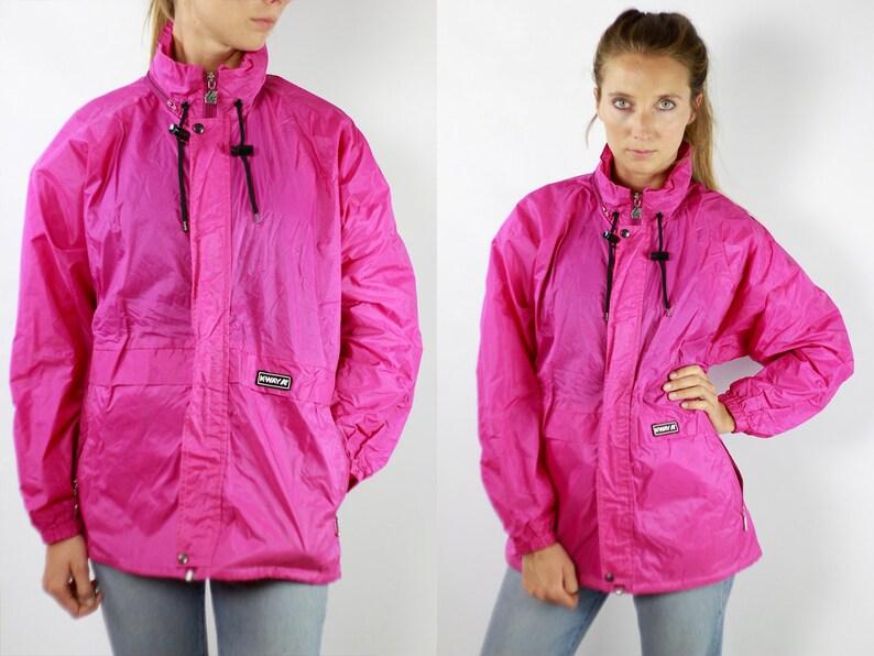 size 40 e513e 7c8e6 K-Way giacca pioggia rosa Giacca Vintage giacca cappotto Kway Giacca Kway  Kway giacca a vento Giacca Kway donne Vintage Kway impermeabile  impermeabile ...