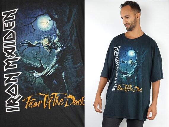 Vintage T-Shirt Iron Maiden Shirt Iron Maiden Top 90s Shirt Band T-Shirt Vintage Iron Maiden T-Shirt 90s Metal Shirt Iron Maiden Retro T96