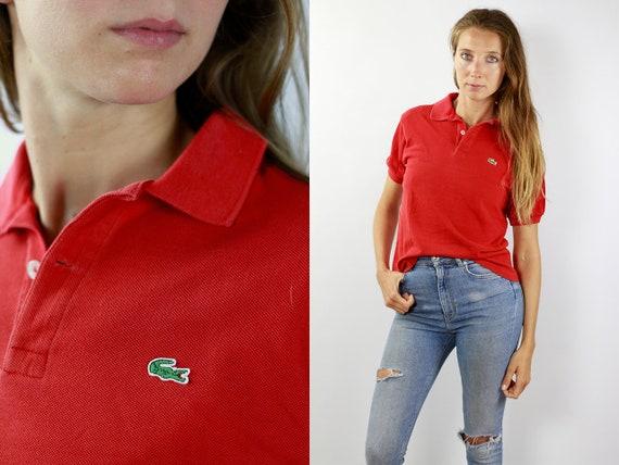 Lacoste Poloshirt Red Poloshirt Lacoste Polo Shirt Vintage Lacoste Polo Shirt Lacoste Shirt Red Polo Shirt Vintage Polo Lacoste Shirt 90s