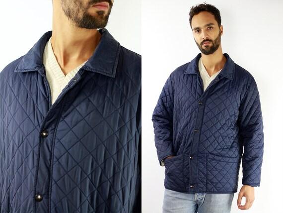 Fila Coat Fila Jacket Blue Fila Coat Fila Vintage Coat Vintage Fila Jacket Blue Fila Jacket Quilted Fila 90s Jacket   JA28