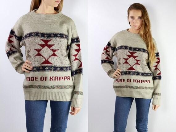 Kappa Jumper Kappa Sweater Kappa Wool Jumper Kappa Wool Sweater 90s Kappa Sweater 90s Kappa Jumper Kappa 90s Kappa vintage P2
