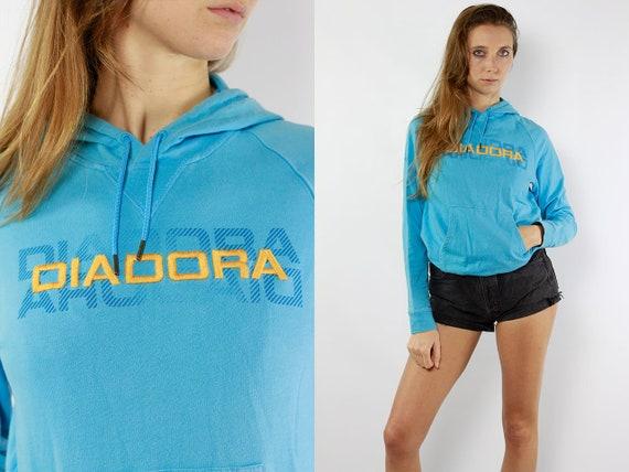 Vintage Hoodie Vintage Jumper Vintage Sweatshirt 90s Hoodie 90s Jumper 90s Sweatshirt Diadora Jumper Diadora Sweatshirt Diadora Hoodie