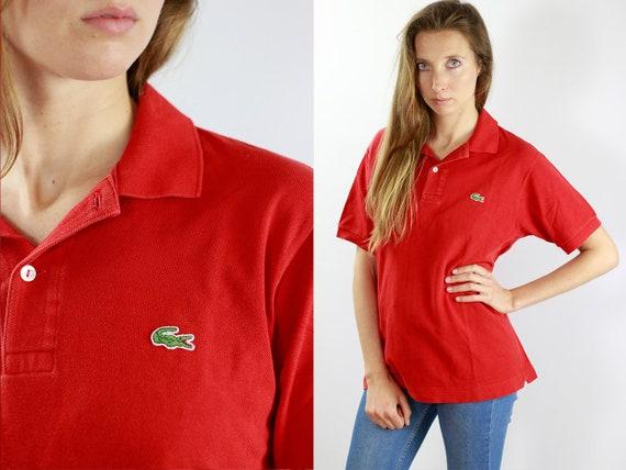 Lacoste Poloshirt Red Poloshirt Lacoste Polo Shirt Vintage Lacoste Polo Shirt Lacoste Shirt Red Polo Shirt Vintage Polo Lacoste Shirt T97