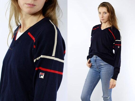 Fila Wool Jumper / Fila Sweater / Fila Jumper / Fila Wool Sweater / 90s Fila Sweater / 90s Fila Jumper / Fila 90s / Fila Vintage / Fila