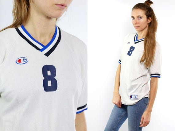 CHAMPION T-Shirt / Tshirt Champion / Champion Vintage / White Champion Shirt / Small Champion Tshirt / White Tee / Trikot Champion