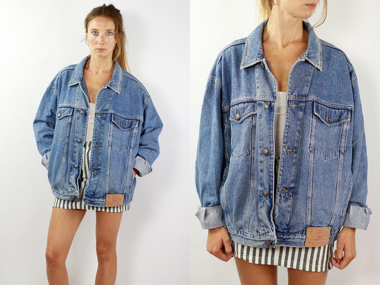 2315b56029cde Vintage Denim Jacket Vintage Jean Jacket Blue Denim Jacket Blue ...