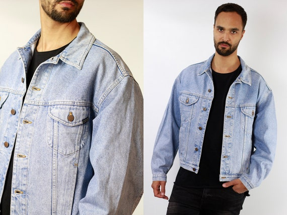 Vintage Denim Jacket Vintage Jean Jacket 80s Denim Jacket 80s Jean Jacket Benetton Jacket Blue Denim Jacket Blue Jean Jacket DJ110