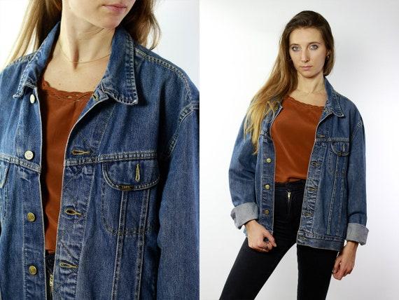 Denim Jacket Vintage Denim Jacket Vintage Jean Jacket Lee Denim Jacket Lee Jacket Lee Jean jacket 80s Denim Jacket Blue Denim Jacket DJ81