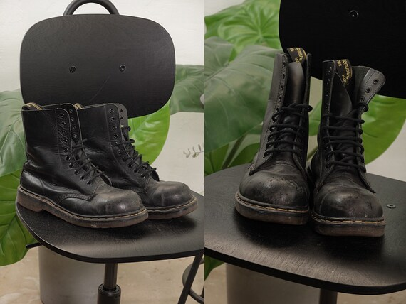 Dr Martens Shoes Leather Boots Dr Martens Boots Bl