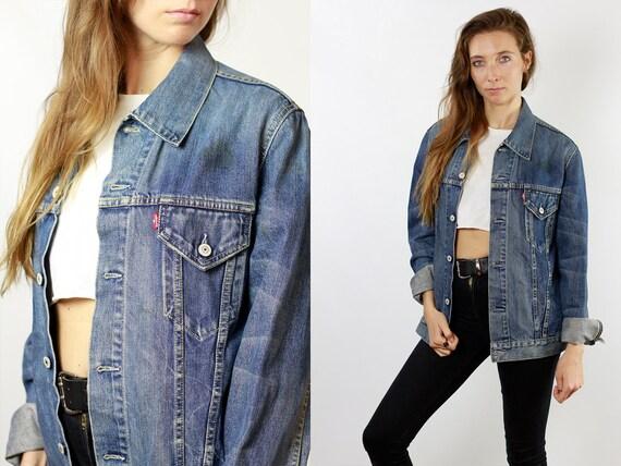 Levis Denim Jacket Levis Jean Jacket LEVIS Jacket Vintage Levis 80s Denim Jacket 80s Jean Jacket Womens Jacket Hipster Vintage Clothing DJ87