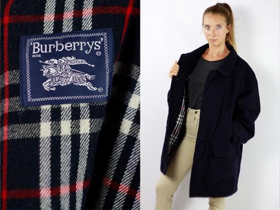 BURBERRYS Coat Blue Burberry Coat Men Burberry Coat Blue Coat Trenchcoat BURBERRY Coat Trench Coat Vintage Trenchcoat Burberry Coat Blue