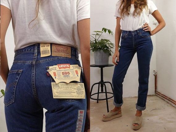 Levis 501 Jeans light blue Dead Stock Vintage Levi