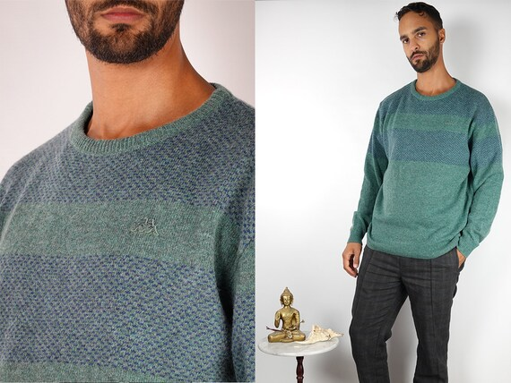 Vintage Jumper Fair Isle Jumper Vintage Sweater Wool Jumper Wool Sweater Winter Jumper Knitted Jumper Knitted Sweater Vintage Clothing WP66
