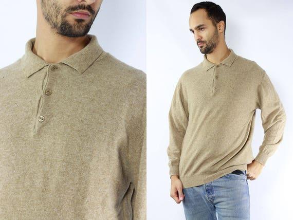 Cashmere Sweater / Cashmere Jumper / Beige Sweater Cashmere / Beige Jumper Cashmere / Sweatshirt Beige / Sweatshirt Cashmere / Mens Sweater