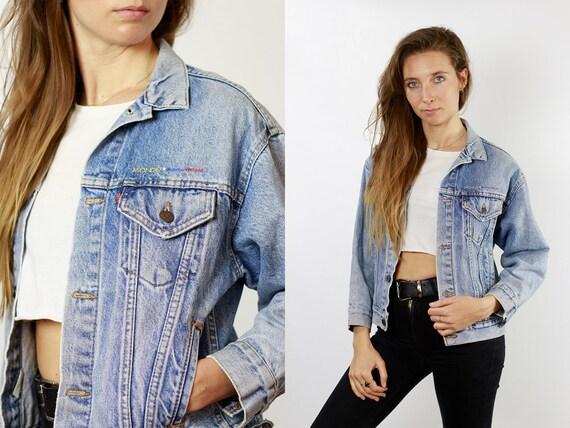 Levis Jean Jacket Levis Denim Jacket Small Denim Jacket Small Jean Jacket 80s Denim Jacket 80s Jean Jacket Womens Vintage Clothing DJ90