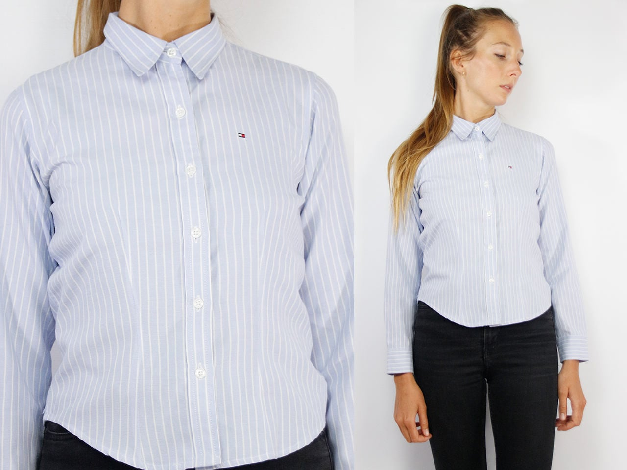e3ac82ef8 TOMMY HILFIGER Shirt / Tommy Hilfiger / Button Up Shirt / Striped ...
