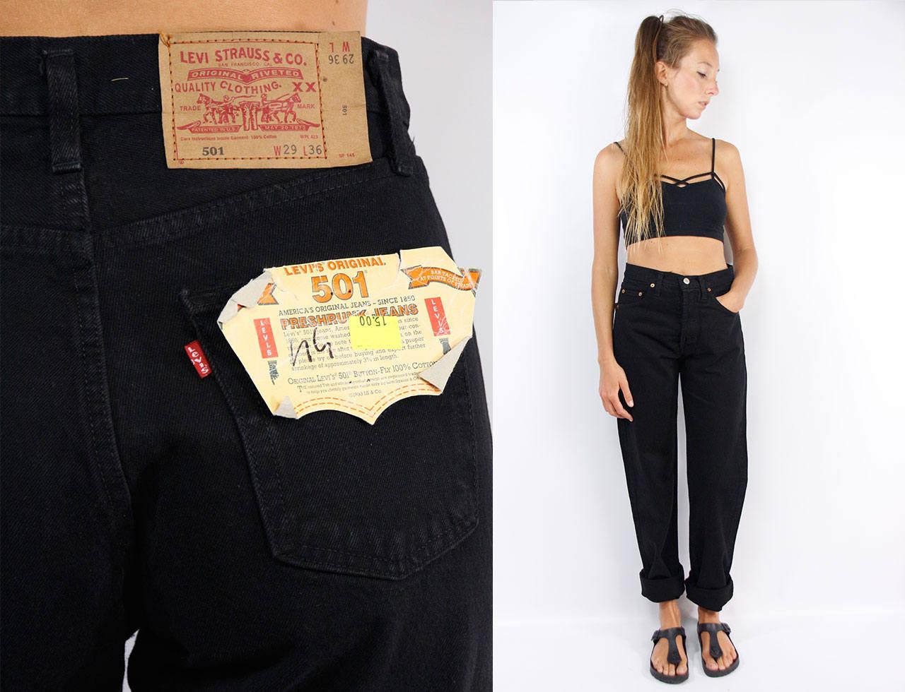 Levis 501 Black Levis 501 29 Levis Jeans 29 Levis Jeans Women