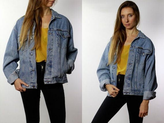 CARRERA Denim Jacket Mens Jean Jacket Carrera Denim Jacket Blue Jean Jacket Men Grunge Jacket Vintage Denim Jacket Denim Jacket Denim DJ42