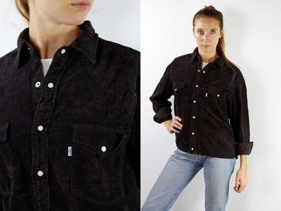 LEVIS Corduroy Shirt Levis Corduroy Shirt Levis Shirt Levis 90s Levis Shirt 90s Corduroy Shirt 90s Corduroy Shirt Vintage Shirt Denim HE7