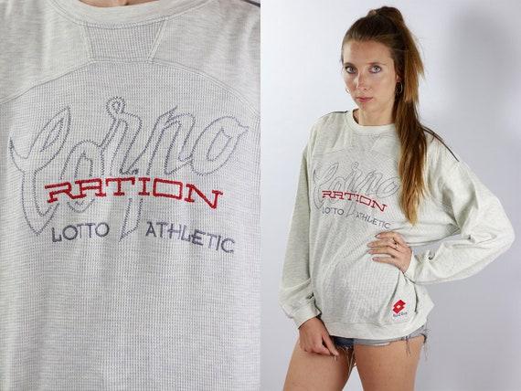 Vintage Sweatshirt 90s Sweatshirt Lotto Sweatshirt Vintage Jumper 90s Jumper Lotto Jumper Streetwear Jumper Streetwear Sweatshirt Lotto