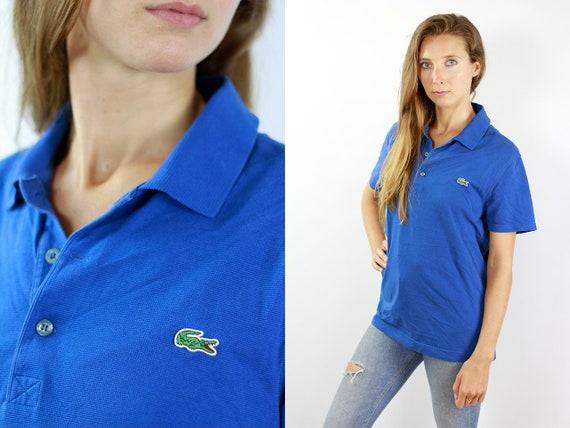 Lacoste Poloshirt Blue Poloshirt Lacoste Polo Shirt Vintage Lacoste Polo Shirt Lacoste Shirt Blue Polo Shirt Vintage Lacoste Shirt 90s T203