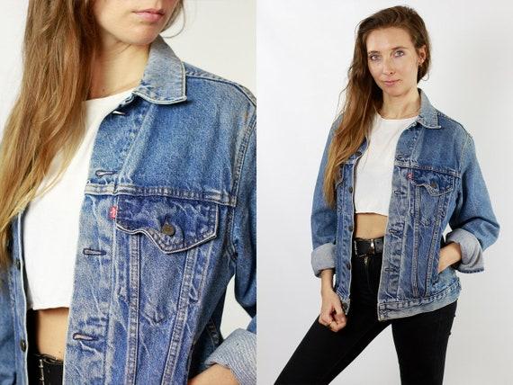 Levis Denim Jacket Levis Jean Jacket LEVIS Jacket Vintage Levis 80s Denim Jacket 80s Jean Jacket Womens Jacket Hipste Vintage Clothing DJ86
