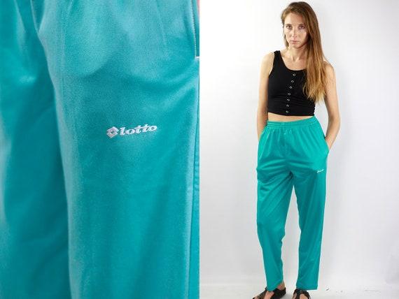 Vintage Track Pants Sweat Pants turquoise Vintage turquoise Pants 90s turquoise Pants Track Pants turquoise 90s Track Pants Retro Joggers