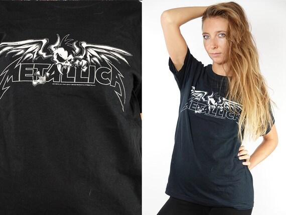 Vintage T-Shirt Metallica Band T-Shirt Vintage Metallica T-Shirt 90s Metal Shirt Metallica Retro a Top 90s Shirt Vintage Clothing T47