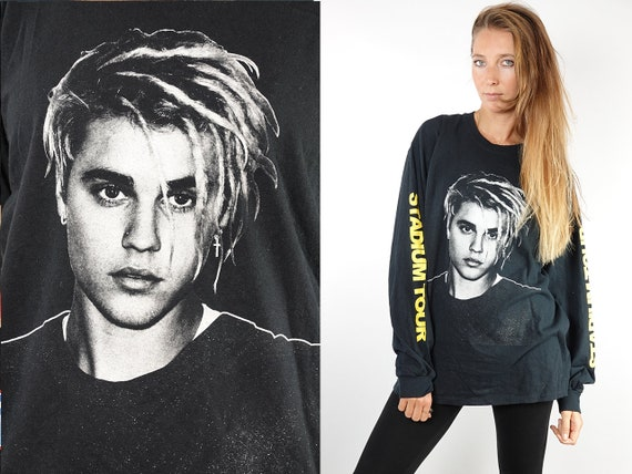 Vintage T-Shirt Justin Bieber Shirt Justin Bieber Top 90s Shirt Band T-Shirt Vintage Justin Bieber T-Shirt 90s Justin Bieber Retro T43