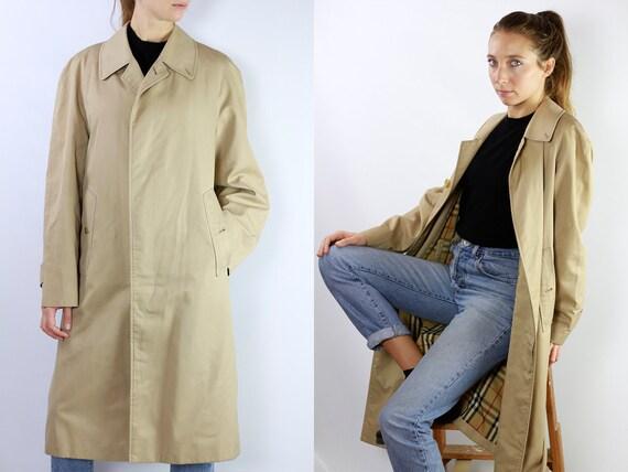 BURBERRYS Trenchcoat Vintage Burberry Coat Beige Women Trenchcoat BURBERRY Trench Coat Vintage Coat Burberry Jacket Beige Coat BurberrysCO19