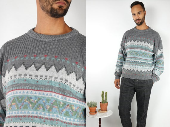 Wool Jumper Fair Isle Jumper Norwegian Sweater Norwegian Jumper Scandinavian jumper Scandinavian Sweater Nordic Jumper Nordic Sweater WP121