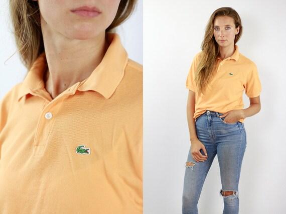 Lacoste Poloshirt Orange Poloshirt Lacoste Polo Shirt Vintage Lacoste Polo Shirt Lacoste Shirt Orange Polo Shirt Vintage Lacoste Shirt 90s