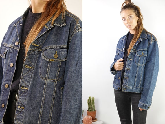 LEE Denim Jacket Lee Jean Jacket Lee Jacket Denim Jacket Lee Jacket Lee Jacket Vintage Denim Jacket Vintage Lee Vintage Jacket  Blue DJ188