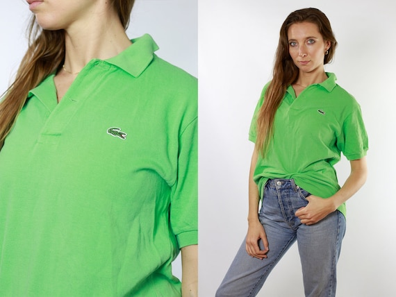 Lacoste Poloshirt Green Poloshirt Lacoste Polo Shirt Vintage Lacoste Polo Shirt Lacoste Shirt Green Polo Shirt Vintage Lacoste Shirt 90s T23