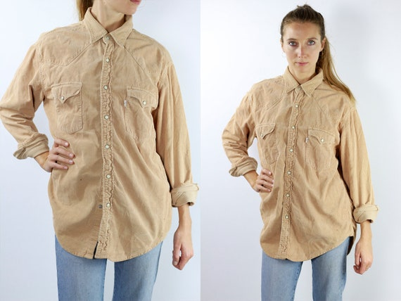 LEVIS Corduroy Shirt Levis Corduroy Shirt Levis Shirt Levis 90s Levis Shirt 90s Corduroy Shirt 90s Corduroy Shirt Vintage Shirt Denim Shirt