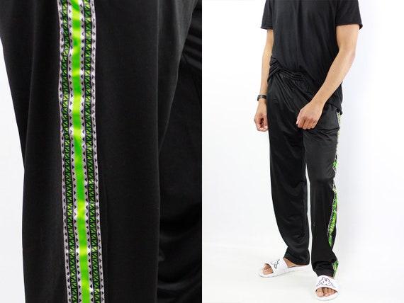 Diadora Track Pants Black Track Pants Diadora Joggers Vintage Diadora Pants Black Sweat Pants Vintage Black Pants Gym Pants Diadora Joggers