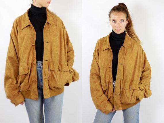 Brown Suede Jacket Suede Bomber Jacket Suede Jacket Brown Vintage Suede Jacket 80s Suede Jacket Bomber Jacket Suede Jacket Leather WLJ91