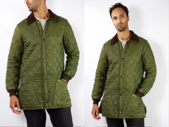 Barbour Jacket Green Quilted Barbour Coat Barbour Jacket Quilted Jacket Quilted Coat Black Barbour Coat Eskdale Barbour Jacket Barbour C86